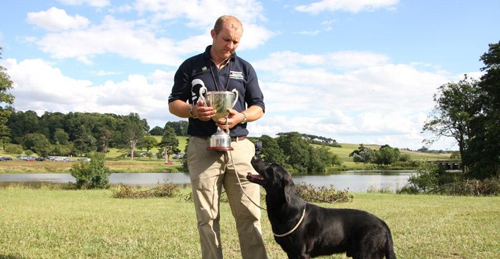 Gundog Trainer of the year 2009